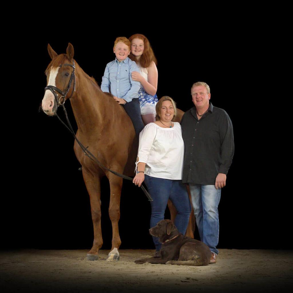 Familie Koop aus von der Pferdepension Lüchow